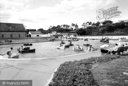 The Boating Lake c.1955, Exmouth