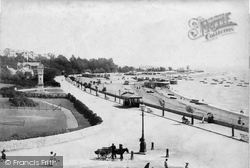 Exmouth, The Esplanade 1898