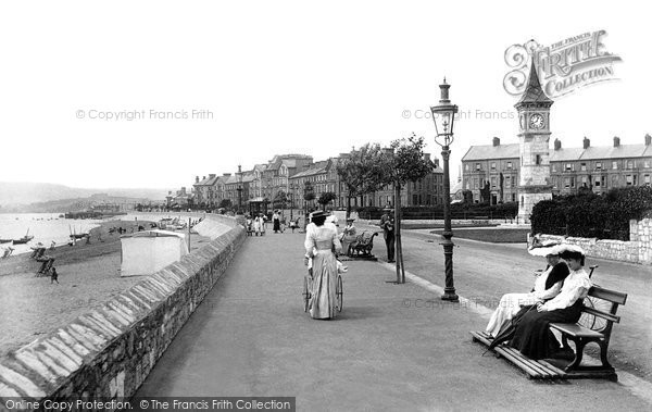 Exmouth, the Esplanade 1906