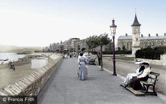 Exmouth, the Esplanade 1906