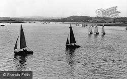 Exmouth, The Estuary c.1965