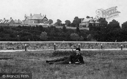 Exmouth, The Golf Links 1895
