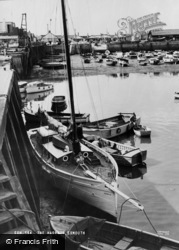 Exmouth, The Harbour c.1965