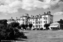 Exmouth, The Imperial Hotel c.1960