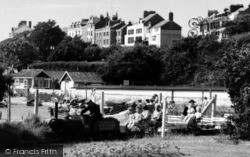 Exmouth, The Miniature Railway c.1960
