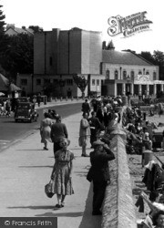 Exmouth, The Pavilion c.1955