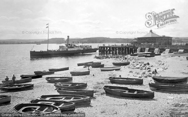 Exmouth, the Pier and the Steamer 1922