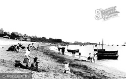 Exmouth, The Sands 1890