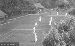 The Tennis Grounds 1915, Exmouth