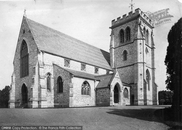 Photo of Exmouth, Withycombe, Church Of St John The Evangelist 1890