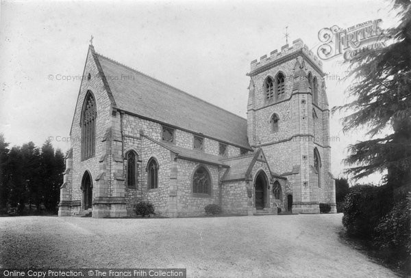 Photo of Exmouth, Withycombe, Church Of St John The Evangelist 1906