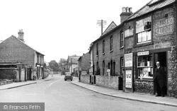 Exning, Chapel Street c.1955
