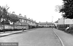 Exning, King George Avenue c.1955