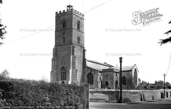 Photo of Exning, St Martin's Church c.1955