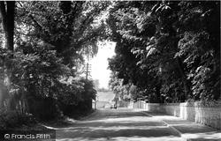 Exning, Swan Lane c.1955