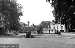Exning, The War Memorial c.1955
