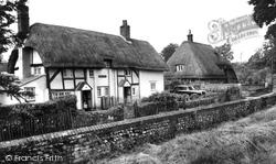 Church View Cottages c.1955, Exton