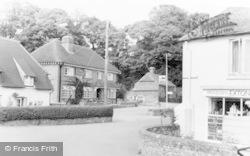 Post Office Corner c.1955, Exton