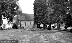The Church Of St Peter And St Paul c.1955, Exton