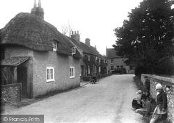 The Village c.1930, Exton