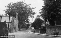 Church Street c.1955, Eyam