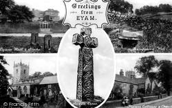 Composite c.1920, Eyam