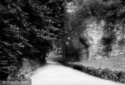 Road Approaching Village 1896, Eyam