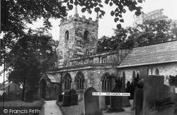 St Lawrence's Church c.1955, Eyam