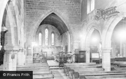 The Church Interior c.1960, Eyam