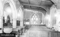 The Church Interior, South Aisle c.1960, Eyam