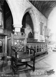 The Mompesson Chair c.1960, Eyam