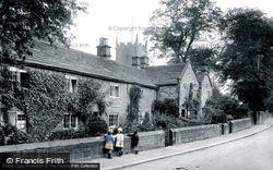 The Plague Cottages 1919, Eyam