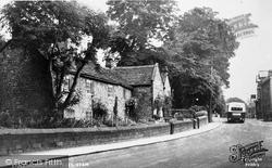 The Plague Cottages c.1955, Eyam