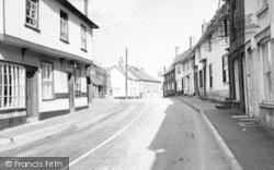 Eye, Castle Street c.1960