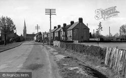 Eyebury Road c.1955, Eye