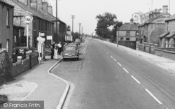 Petrol Station, Crowland Road c.1960, Eye