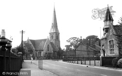 St Matthew's Church c.1955, Eye