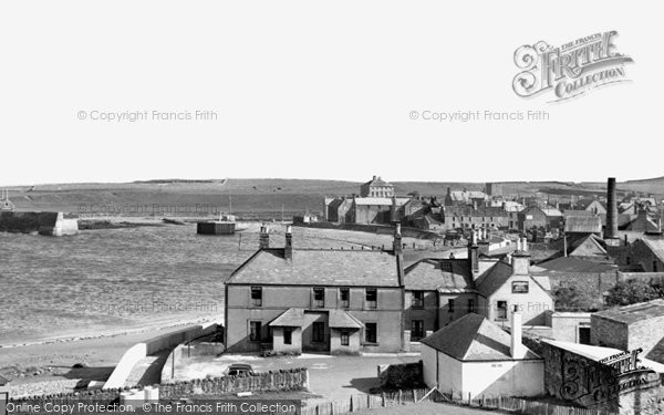 Photo of Eyemouth, c1960, ref. e119008