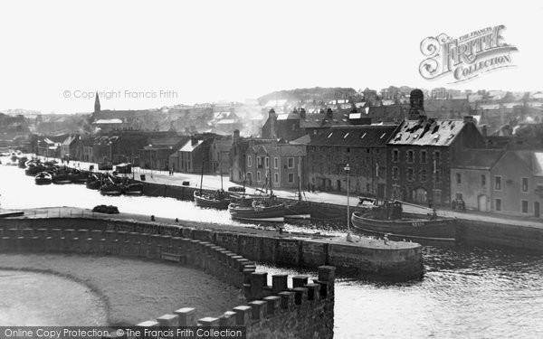 Photo of Eyemouth, from the Golf Course c1960, ref. e119014