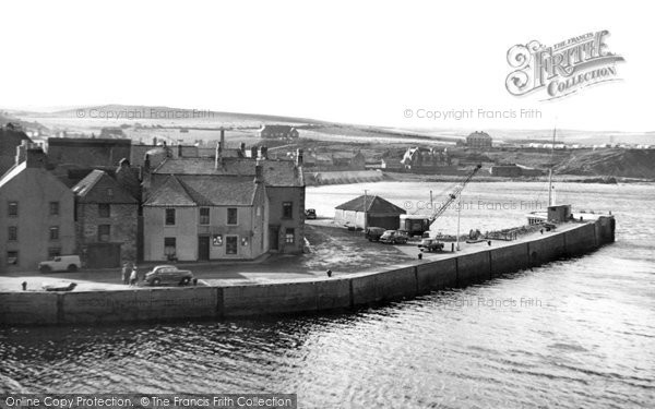 Photo of Eyemouth, from the Golf Course c1960, ref. e119015