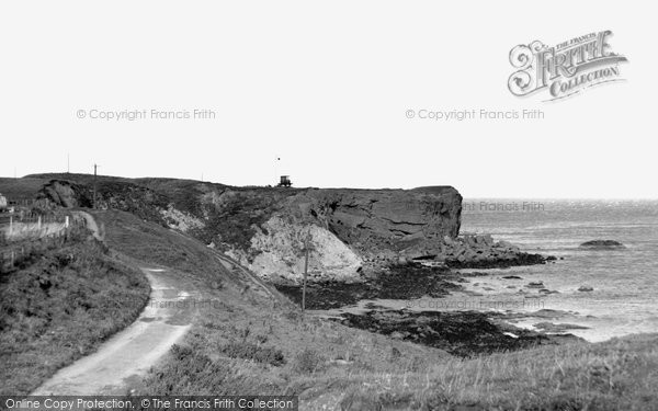 Photo of Eyemouth, the Cliffs c1960, ref. e119010