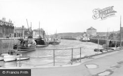 The Harbour c.1955, Eyemouth