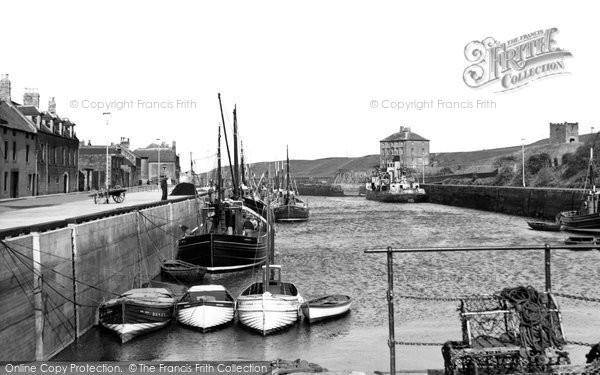 Eyemouth, The Harbour c.1960