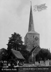 Eynsford, St Martin's Church c.1955