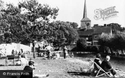Eynsford, The Bridge And Church c.1955