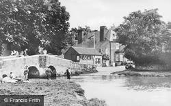 Eynsford, The Bridge And River c.1955