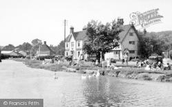 Eynsford, The River c.1955