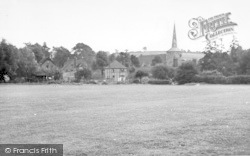 Eynsford, View From The Recreation Ground c.1955