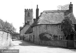 Eynsham, A Quaint Corner c.1950