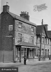 Eynsham, Mumford's Shop, High Street c.1950